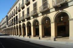 Voûte de d'Emporda de Bisbal de La, province de Gérone, Espagne Photo libre de droits