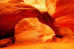 Voûte de dune de sable photos stock