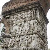 Voûte de Galerius à Salonique, Grèce Photo stock