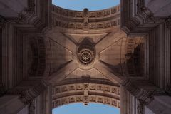 Voûte de Lisbonne Images stock