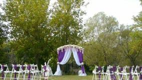 Voûte de mariage, décor, cérémonie, fleurs clips vidéos