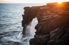 Voûte de mer de Holei Images libres de droits