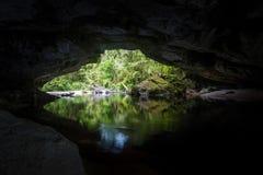 Voûte de porte de Moria, Nouvelle-Zélande Photos stock