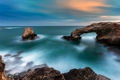 Voûte de roche de pont d'amour Photo libre de droits
