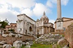 Voûte de Septimius Severus Images libres de droits