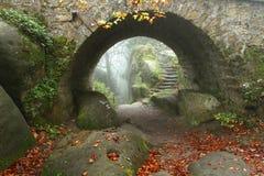 Voûte de vieux pont Images stock