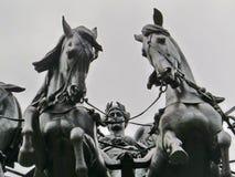 Voûte de Wellington, Londres Images libres de droits