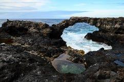 Voûte en pierre naturelle Photo stock