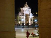Voûte Lisbonne de victoire Image libre de droits