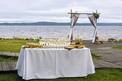Voûte pour le mariage Photographie stock libre de droits