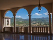 Voûtes Abbey Santa Rita Photographie stock libre de droits