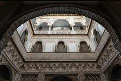 Voûtes arabes en Séville Photographie stock libre de droits