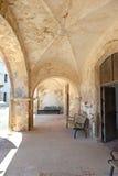 Voûtes chez Castillo San Cristobal Images libres de droits