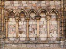 5 voûtes en pierre Photographie stock libre de droits