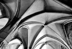 Voûtes gothiques Images stock