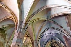 Voûtes gothiques Photos stock