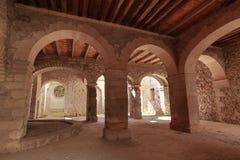 Voûtes médiévales au Mexique photographie stock