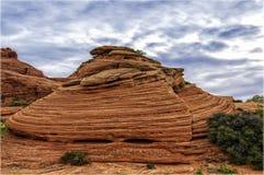 Voûtes parc national, Utah, Etats-Unis Image stock