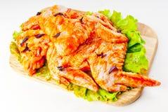 Voa a galinha no marinade Imagens de Stock