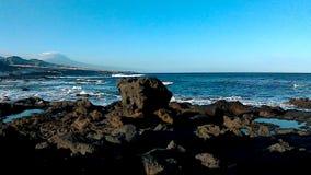Voast von Teneriffa mit Ansicht zum Teide stock video