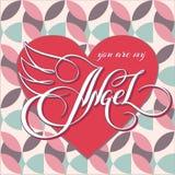 Você é meu angel_1 Foto de Stock Royalty Free