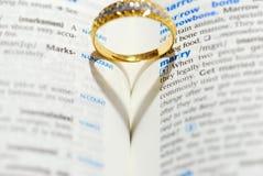Você casar-me-á Imagens de Stock Royalty Free