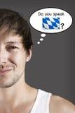 Você fala o Bavarian? fotografia de stock royalty free