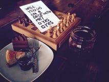 Você irá em uma data comigo? Fotografia de Stock Royalty Free