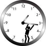 Você não pode parar o tempo Fotografia de Stock Royalty Free
