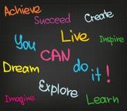Você pode fazê-lo! Imagem de Stock Royalty Free
