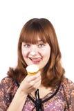 Você quer remendar do gelado? foto de stock