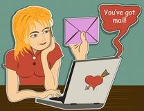 Você tem o correio Imagens de Stock Royalty Free