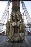 VOC船阿姆斯特丹 免版税图库摄影