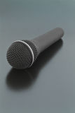 Vocal Microphone. Vocal mike on the semiglossy surface Stock Photography
