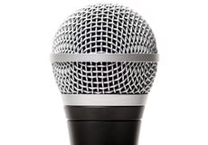 Vocal microphone close up isolated Stock Photos