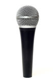 Vocal microphone close up isolated Royalty Free Stock Images