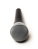 Vocal microphone close up  Stock Photos