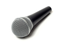 Vocal microphone close up  Stock Photography