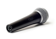 Vocal microphone close up  Royalty Free Stock Photos