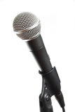 Vocal microphone isolated Royalty Free Stock Photos