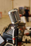 Vocal Microphone Radio Station Stock Photos