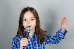 Vocalist Royalty Free Stock Photo