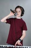 Vocalist Stock Image