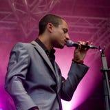 Vocalista americano Jose James de la estrella Foto de archivo libre de regalías
