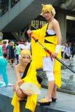Vocaloid Rin and Len Royalty Free Stock Photos