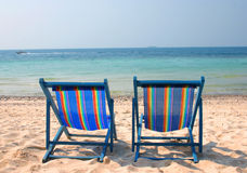 Vocation. Beach from Larn Island of Thailand royalty free stock images
