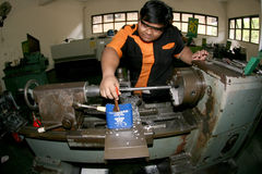 Vocational student Stock Photo