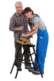 Vocational training Royalty Free Stock Photo