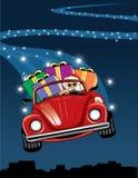 Vocho van de kerstman Royalty-vrije Stock Fotografie