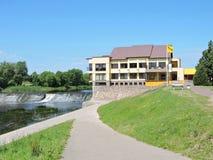 Vocht in Taurage, Litouwen royalty-vrije stock foto's
